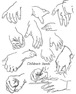How to Draw Childrens Hands
