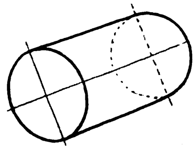 Example 2: Drawing Cylinders and Drawing Shaded Cylindrical Objects with Cast Shadows Easy Steps Lesson