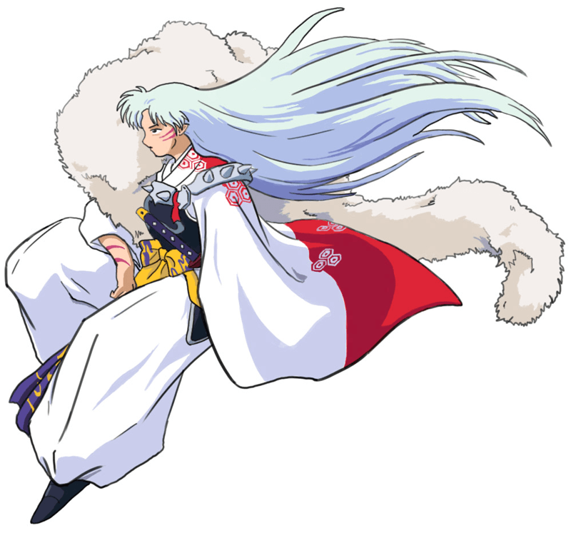 How to draw Sessohamaru from Inuyasha with easy step by step drawing tutorial