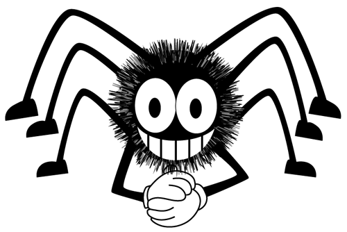 How to draw a Cartoon Spider with easy step by step drawing tutorial