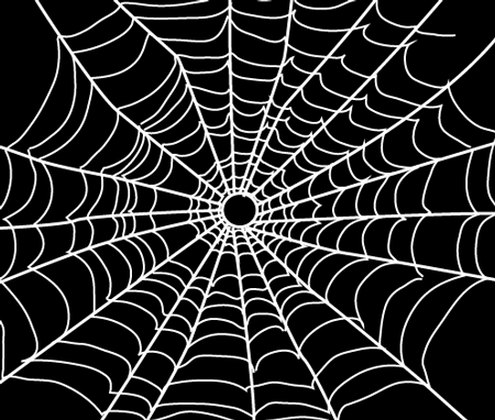 How To Draw Spider Webs With Easy Step By Step Drawing