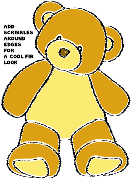 How to draw a Teddy Bear with easy step by step drawing tutorial