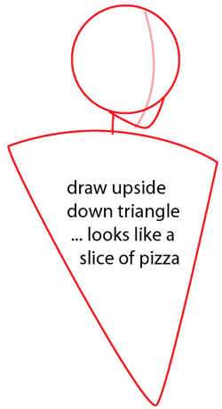 how to draw a rectangular pyramid step by step