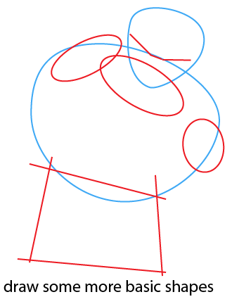how to draw gohan easy