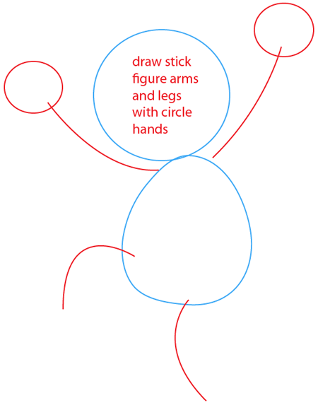 step 2 drawing elmo from sesame street easy steps lesson