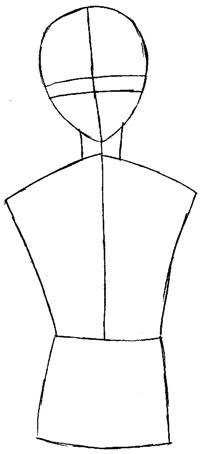 Step 3 : Drawing Yuki Sohma from Fruits Basket Easy Steps Lesson