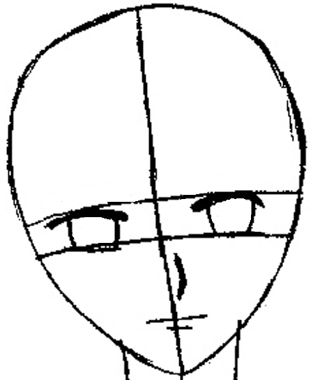 Step 6.1 : Drawing Yuki Sohma from Fruits Basket Easy Steps Lesson