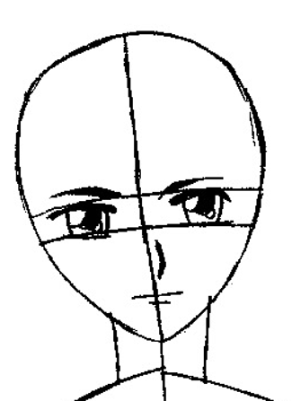 Step 6.2 : Drawing Yuki Sohma from Fruits Basket Easy Steps Lesson