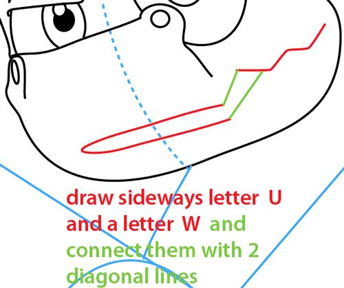 Step 7 : Drawing Spyro from Spyro the Dragon Easy Steps Lesson