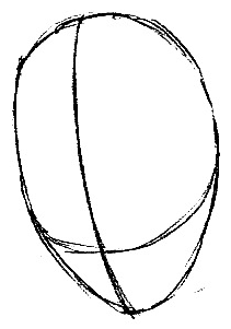 Step 1 : Drawing Jak from Jak and Daxter Easy Steps Lesson