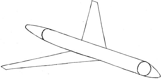 step 3 drawing an airplane easy steps lesson