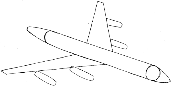 step 4 drawing an airplane easy steps lesson