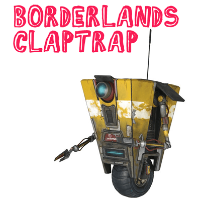 How to draw a Claptrap from the game Borderlands with easy step by step drawing tutorial