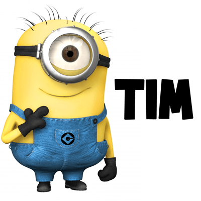 How to draw Tim the Minion from Despicable Me with easy step by step drawing tutorial