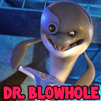 How to draw Dr. Blowhole from Penguins of Madagascar with easy step by step drawing tutorial
