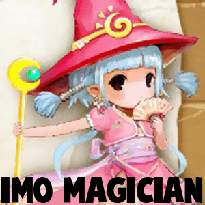 How to draw Imo Magician from World of Magic with easy step by step drawing tutorial