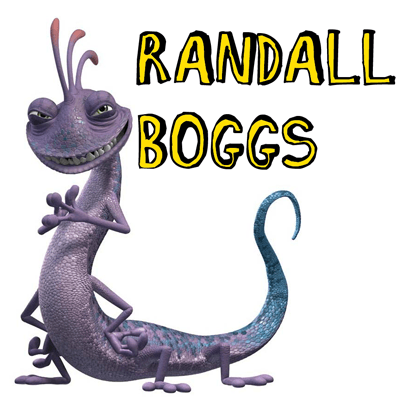 How to draw Randall Boggs from Monsters Inc. with easy step by step drawing tutorial