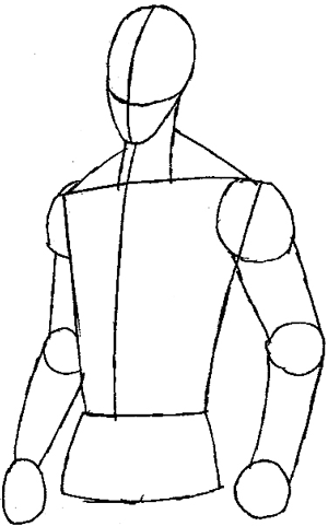 Step 4 : Drawing Vert Wheeler from Hot Wheels Battle Force 5 Easy Steps Lesson