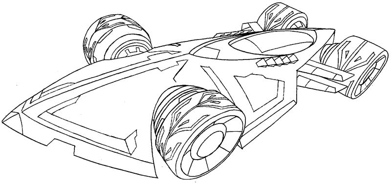 How to draw the saber from hot wheels battle force 5 with for Hot wheels battle force 5 coloring pages