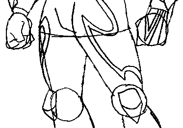 Step 10 : Drawing Vert Wheeler from Hot Wheels Battle Force 5 Easy Steps Lesson
