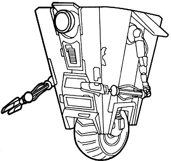 Borderlands coloring pages ~ How to Draw a Claptrap from the game Borderlands with Easy ...