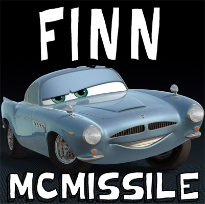 How to draw Finn Mc Missile from Pixar's Cars with easy step by step drawing tutorial