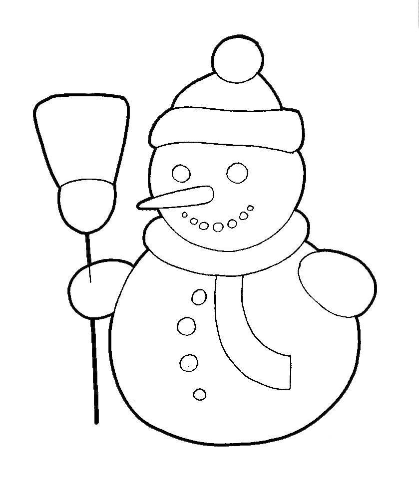 How To Draw A Snowman With Easy Step By Step Drawing Tutorial - How To Draw Step By Step Drawing ...