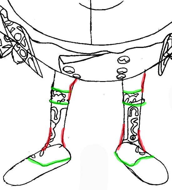 Step 8 : Drawing Humpty Dumpty from Puss In Boots Easy Steps Lesson