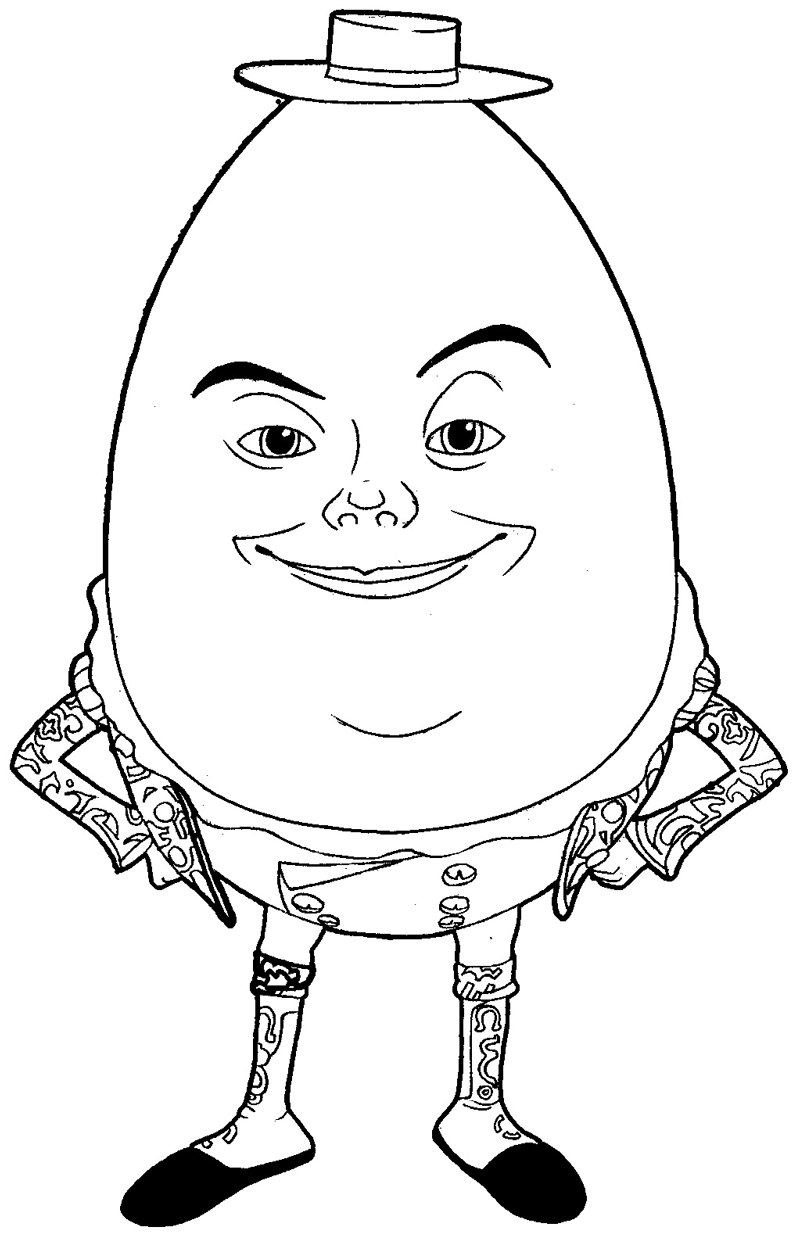How to draw Humpty Dumpty from Puss In Boots with easy step by step drawing tutorial
