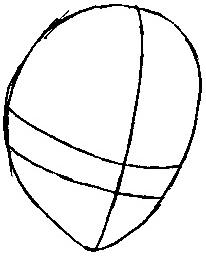 Step 1 : Drawing Tsuna from Katekyo Hitman Reborn Easy Steps Lesson
