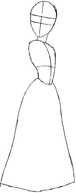 How to Draw Rapunzel from Tangled with Easy Step by Step ...