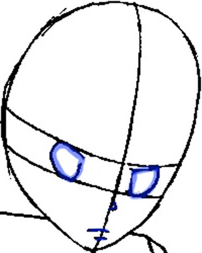 Step 5a : Drawing Tsuna from Katekyo Hitman Reborn Easy Steps Lesson