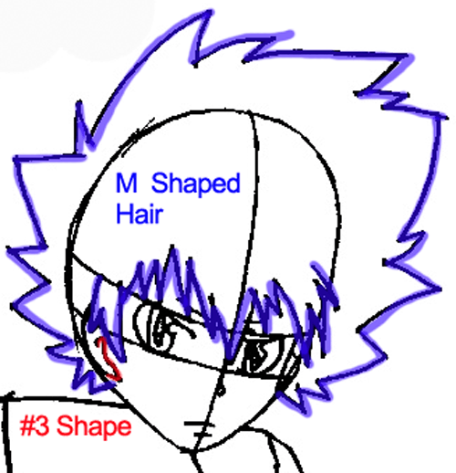 Step 6 : Drawing Tsuna from Katekyo Hitman Reborn Easy Steps Lesson