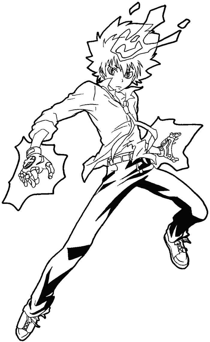How to draw Tsuna from Katekyo Hitman Reborn with easy step by step drawing tutorial