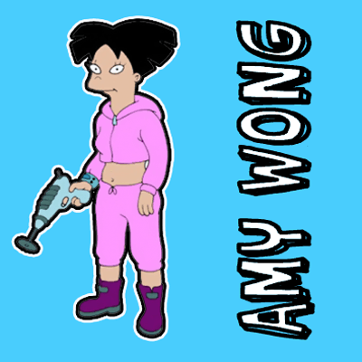 How to draw Amy Wong from Futurama with easy step by step drawing tutorial