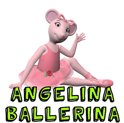 How to draw Angelina Ballerina with easy step by step drawing tutorial