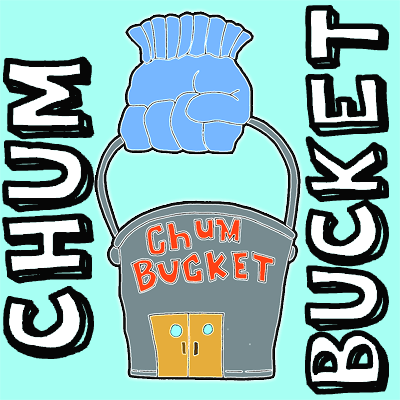 How to draw Plankton's Chum Bucket from Spongebob Squarepants with easy step by step drawing tutorial