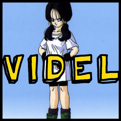 How to draw Videl from Dragonball Z with easy step by step drawing tutorial