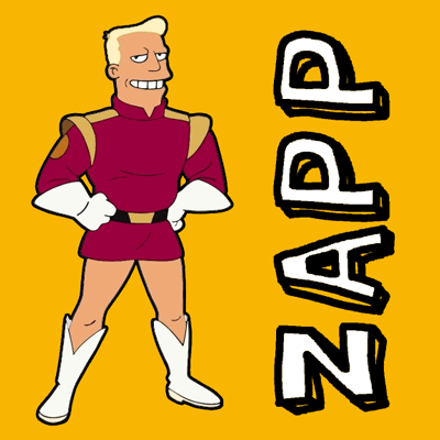 How to draw Captain Zapp Brannigan from Futurama with easy step by step drawing tutorial
