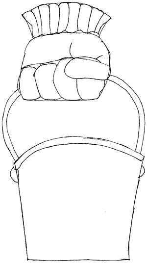 How To Draw Plankton S Chum Bucket From Spongebob