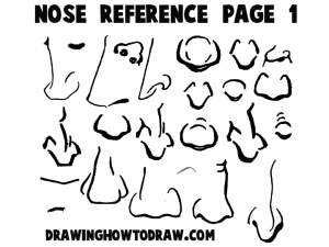 Cartoon and Comic Reference Sheet 1