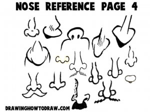 Cartoon and Comic Reference Sheet 4