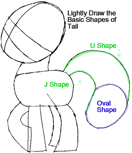 Step 4 : Drawing Apple Jack from My Little Pony in Easy Steps Lesson