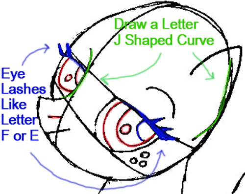 Step 5b : Drawing Apple Jack from My Little Pony in Easy Steps Lesson
