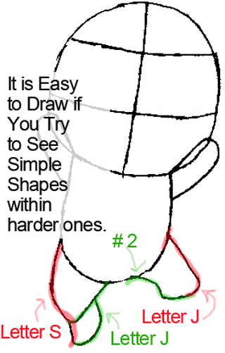 Step 4 : Drawing Exceed Happy from Fairy Tail in Easy Steps Lesson