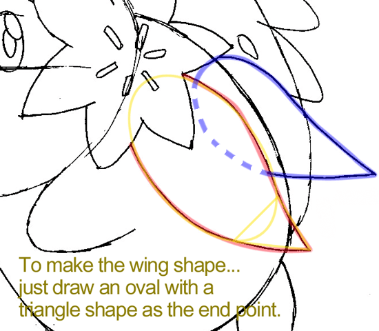 Step 8 : Drawing Shaymin from Pokémon in Easy Steps Lesson