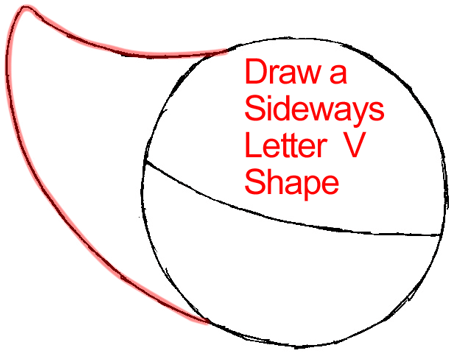 Step 2 : Drawing Snivy from Pokémon in Easy Steps Lesson
