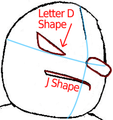 Step 5a : Drawing Wolf O'Donnell from the Star Wolf Team in Easy Steps Lesson
