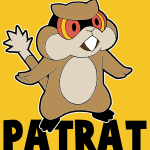 How to draw Patrat from Pokémon with easy step by step drawing tutorial