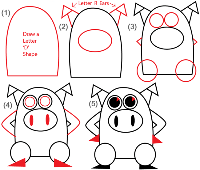 capital letter d pig tutorials